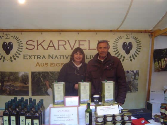 Manolis und Carmen Skarvelis